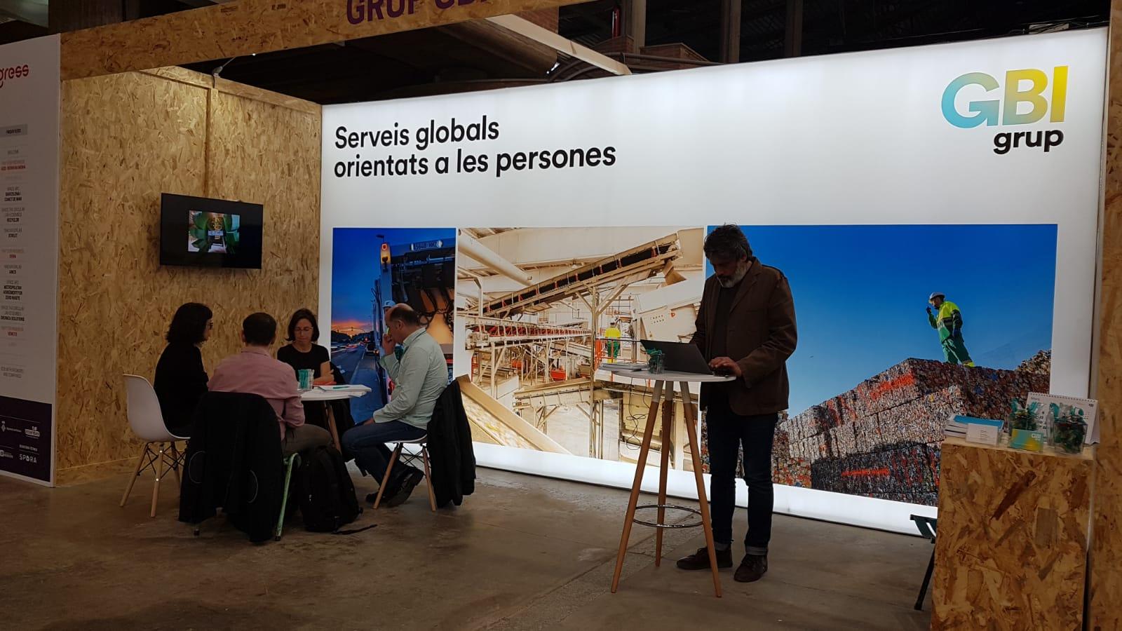 Gbi Serveis Ha Estat Present  Aquest Mes De Mars Al Fórum Internacional  Waste In Progress 2019 De Gestió De Residus Municipals A Girona.