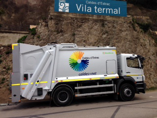 L'informatiu Municipal De Caldes D'Estrac Núm. 247. Noves Millores En El Servei De Recollida D'escombraries